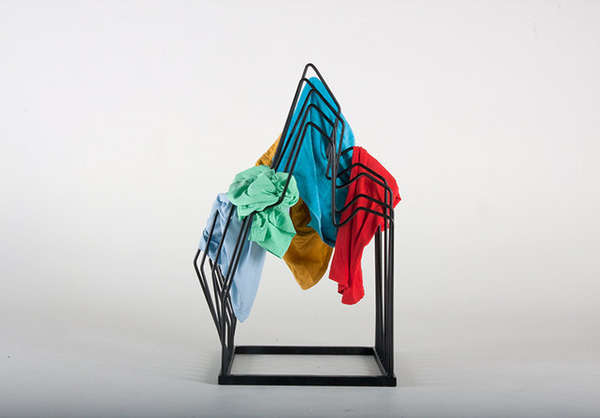 Sculptural Clothing Racks