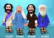 Fuzzy Felt Religious Figurines