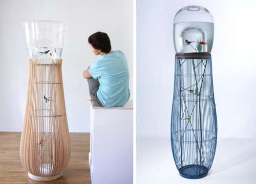 Caged Aqua Tanks