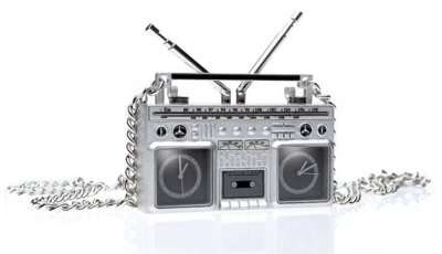 Ghetto Blaster Watch Bling