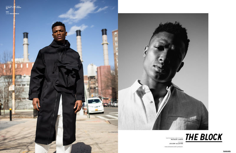 Functional Menswear Editorials