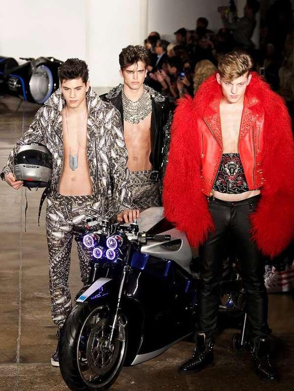 Rock Star Biker Fashion