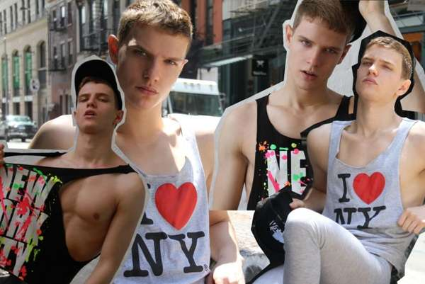 NYC Menswear Collages
