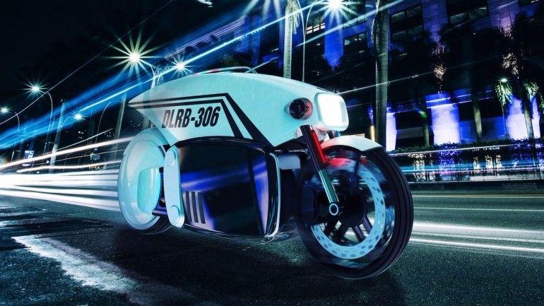 Autonomous Police Motorcycles