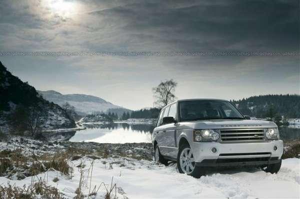 Bullet-Proof Range Rover Vogue