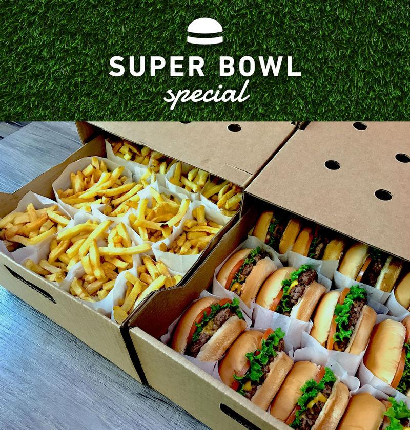 Big Game Burger Boxes