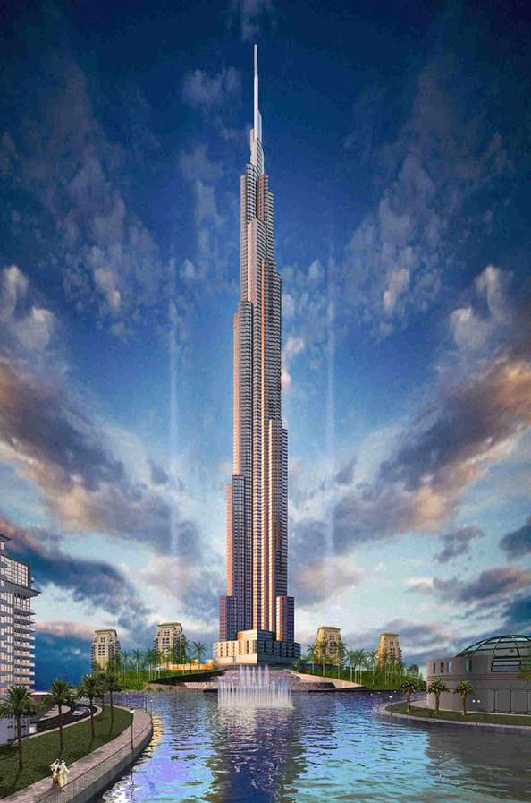 The Burj Dubai Becomes the Worlds Tallest Building