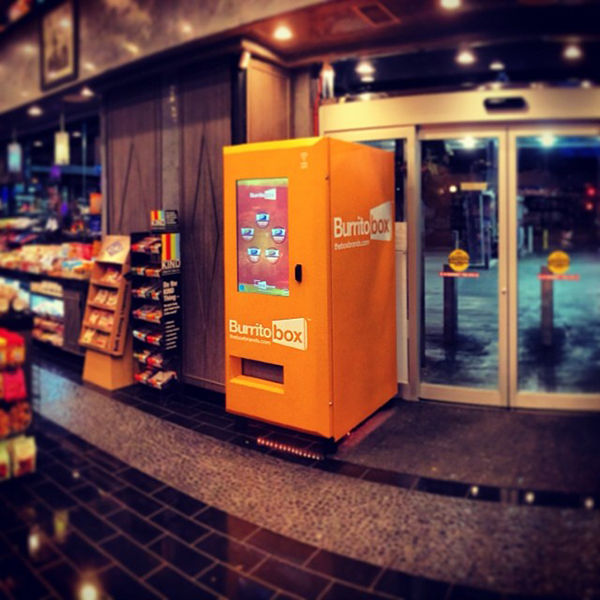 Taco Shop Vending Machines