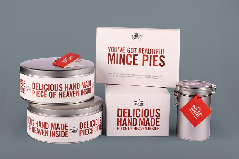 Festive Pie Packaging