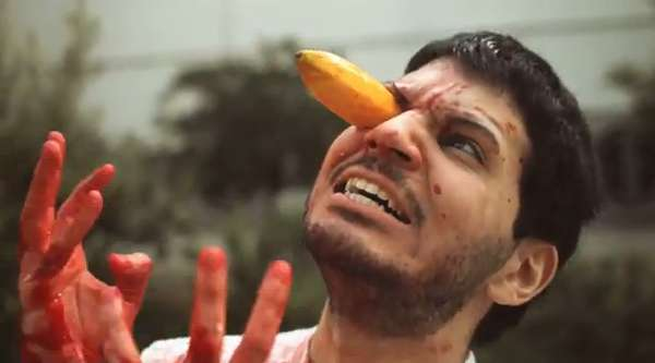 Gory Fruit Movie Parodies