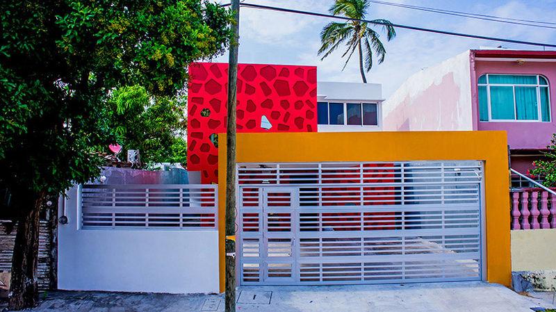 Vibrant-Hued Homes