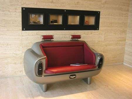 Luxury Cars Inspire Furniture