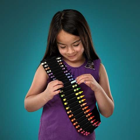 the crayon bandolier