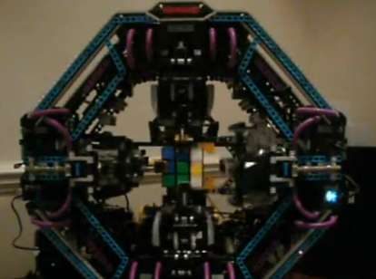 Rubiks Cube Robots
