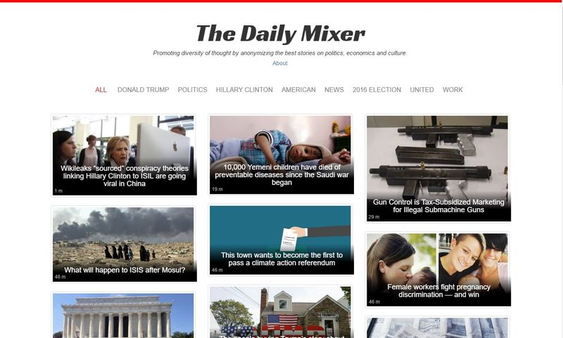 Anonymous News Aggregators