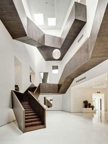 Angular Stairway Stores