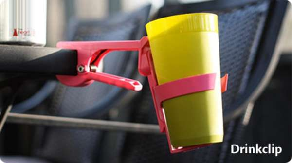 Clip-On Cup Holders