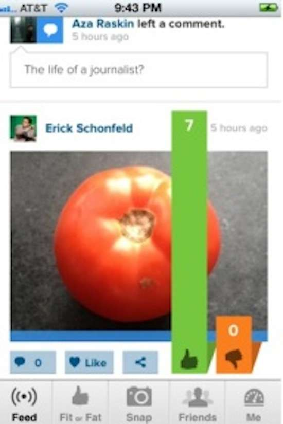 Diet-Tracking Photo Apps