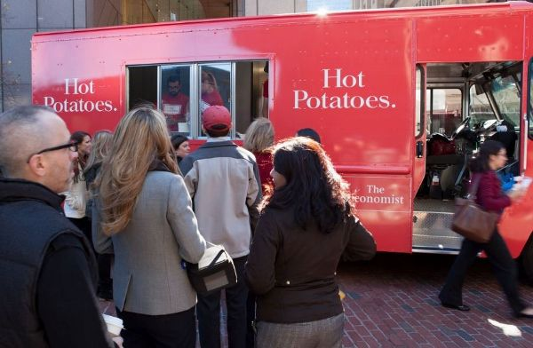 The Economist hot potato