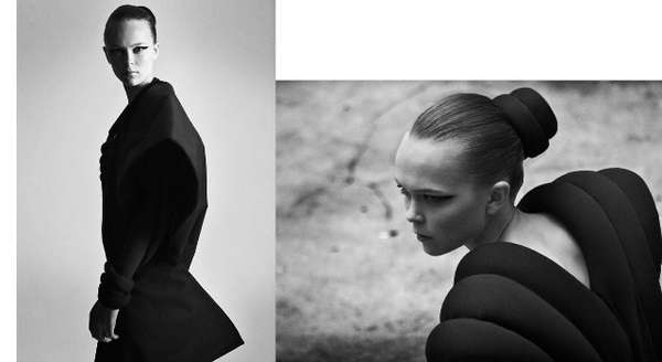 Dancers as Abstract Fashion Models