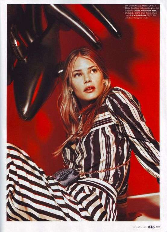 Op Art-Inspired Editorials