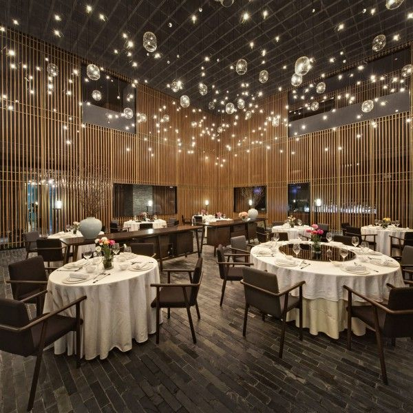 Home Design Business Ideas: Incandescent Starry-Night Restaurants : The Feast Restaurant