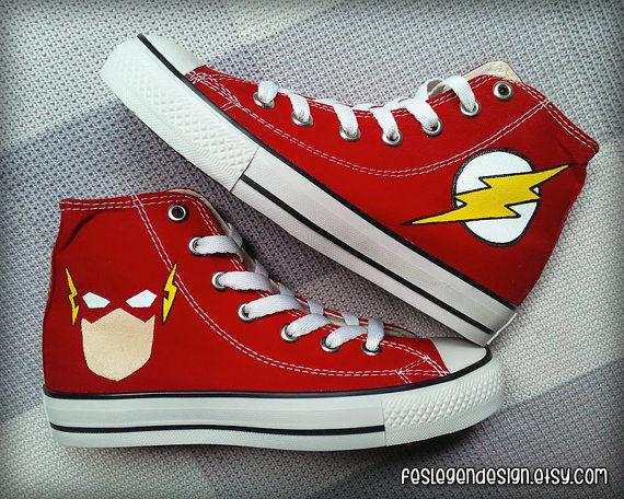 Customized Flashy Footwear