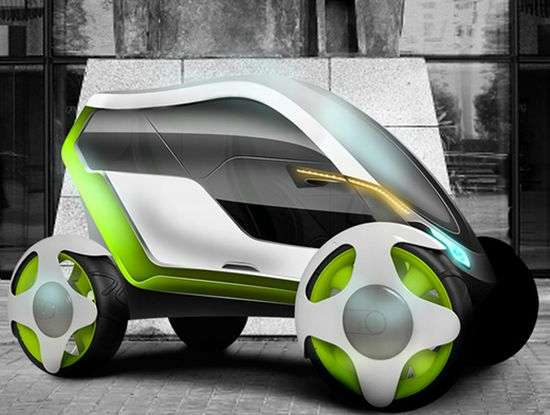 Slim Futuristic Vehicles