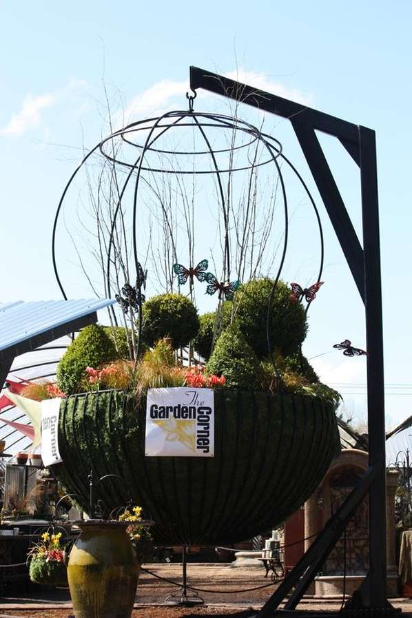 Gigantic Flower Baskets