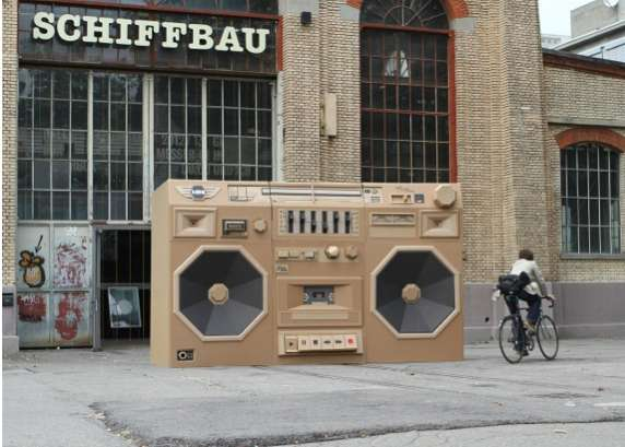 The Ghettoblaster