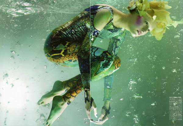 Underwater Fashion Treasures