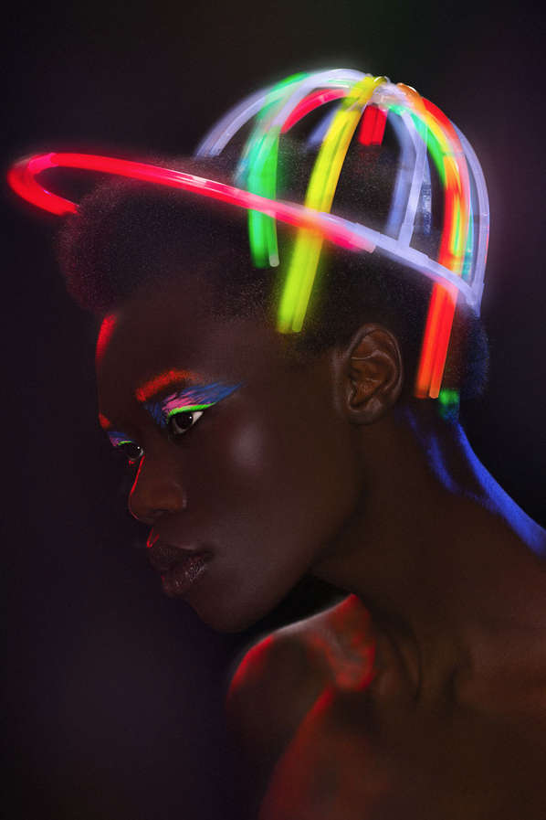 Illuminated Headpiece Editorials