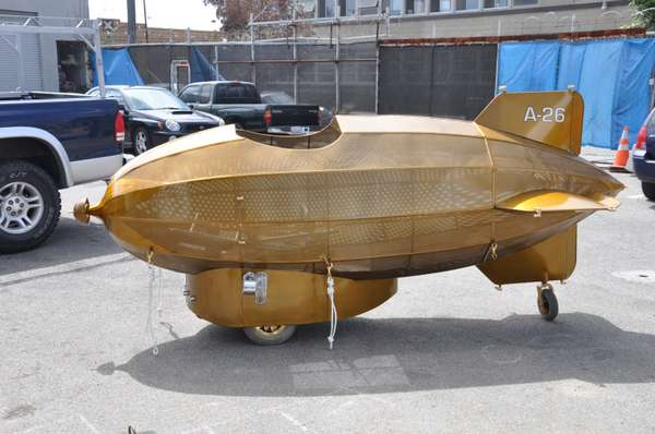 Gilded DIY Aircrafts