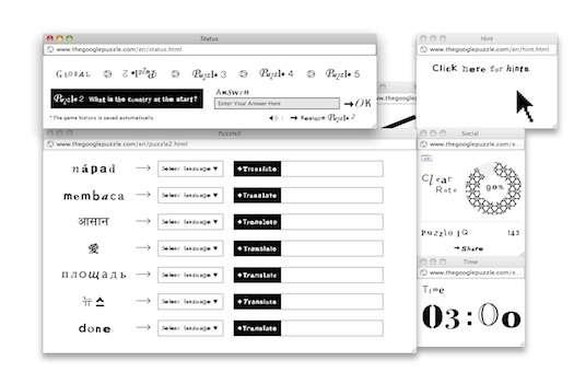 Hyper-Stimulating HTML Puzzles