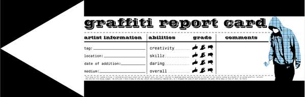 The Graffiti Report Card