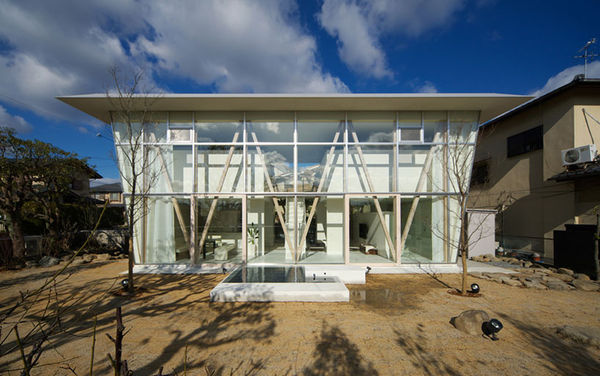 Expansive Glass-Back Abodes