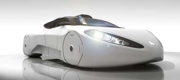 Sleek Transformer Vehicles The Halo Intersceptor Car