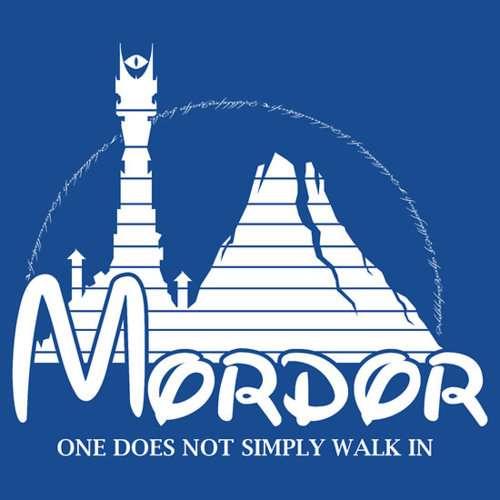 Disney Parody Tolkien Tees