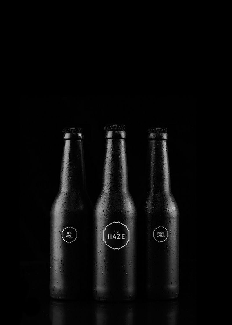 Blackout Sparkling Beverage Bottles