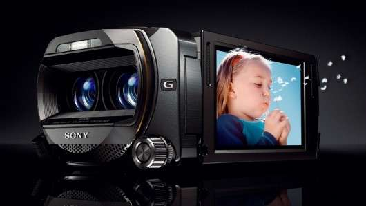 High-Tech 3D Camcorders
