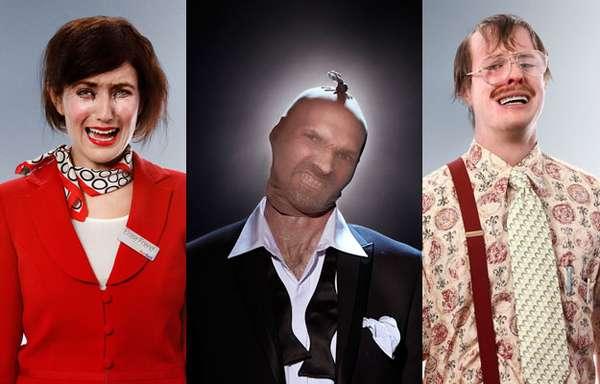 Hilarious Holdup Portraits