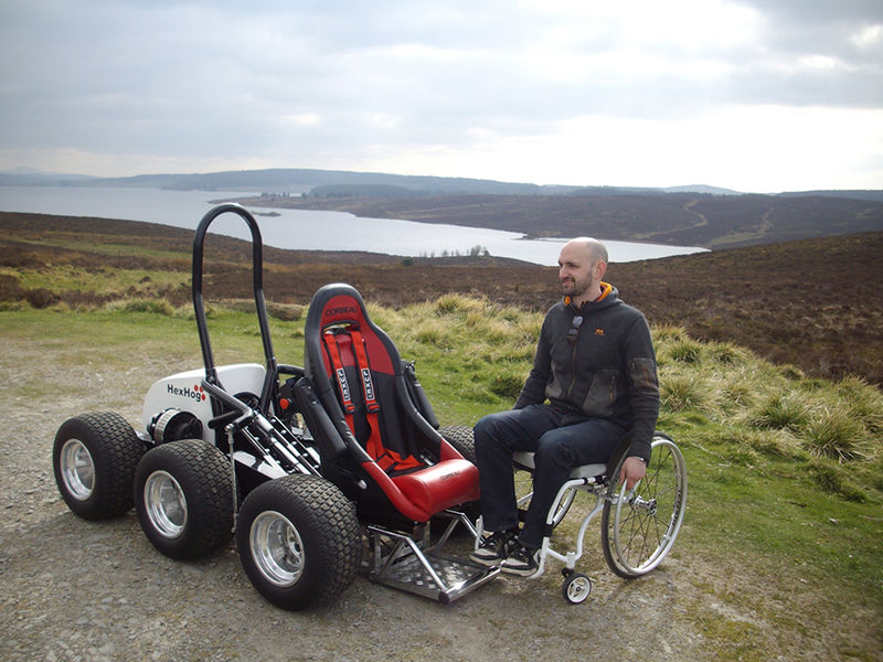 Off Road Wheelchairs The Hexhog