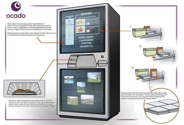 The Hi-Tech Fridge