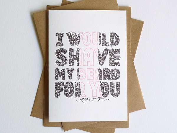 Hipster Romance Cards