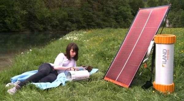 Solar Campsite Power Packs