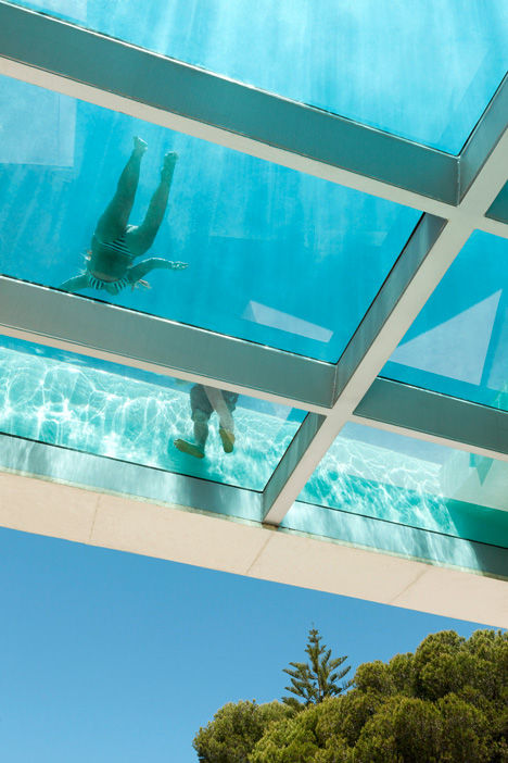 Voyeuristic Swimming Pool Abodes
