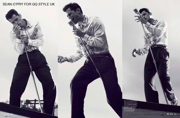 Retro Elvis-Themed Editorials