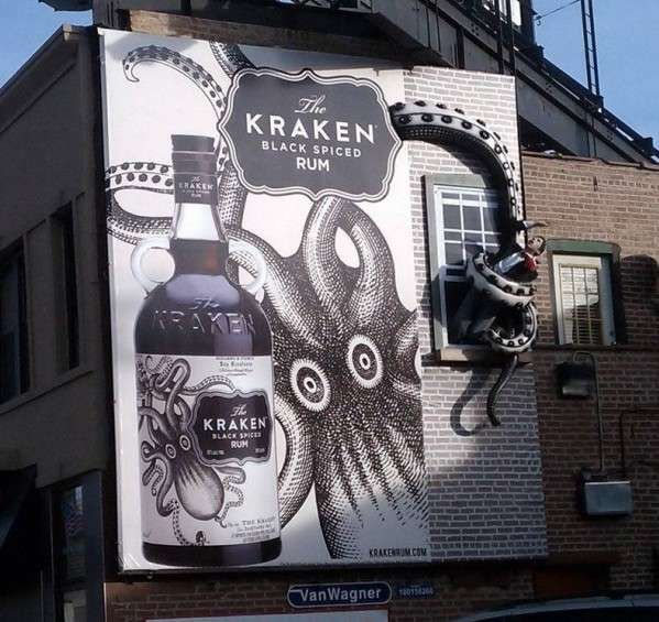 Legendary Sea Monster Billboards