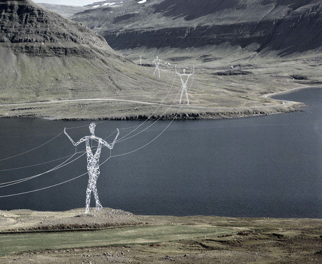 Personified Power Lines
