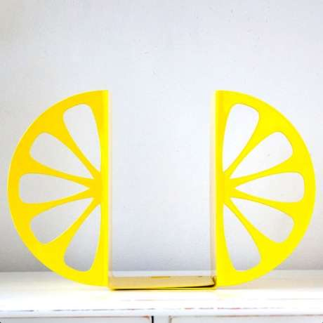 The Lemon Bookends by Design Atelier Article